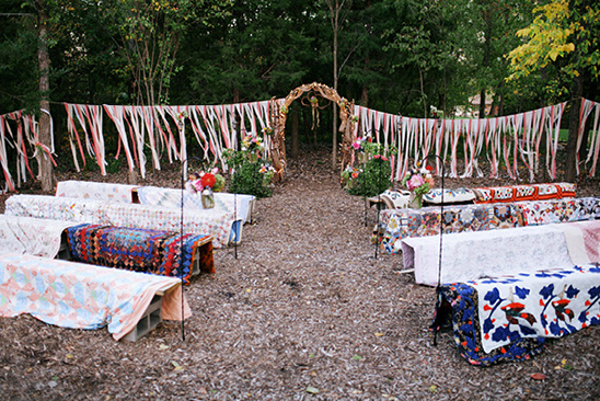 Colorful DIY Backyard Wedding