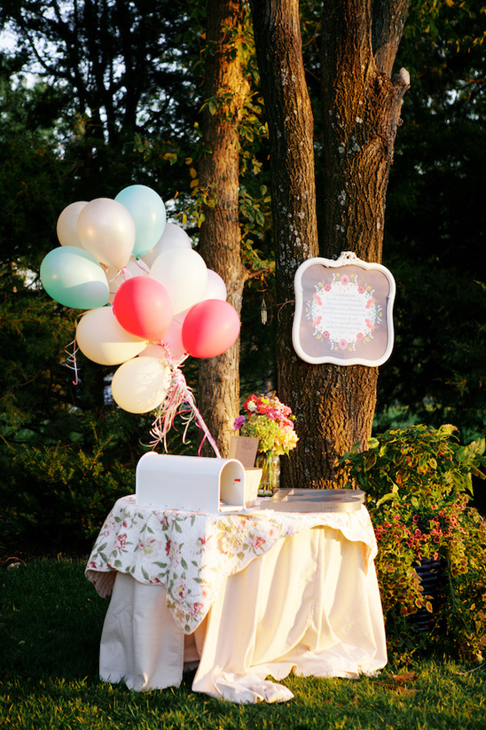 country kitsch card table ideas