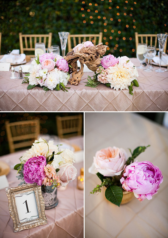 floral table pieces