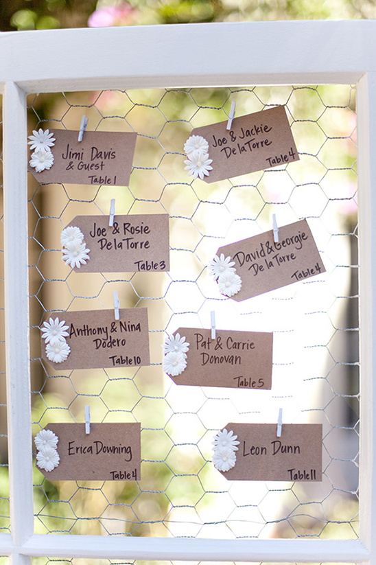 daisy escort cards