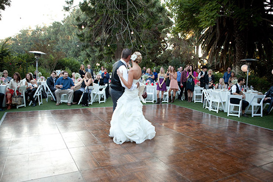 outdoor dance floor ideas