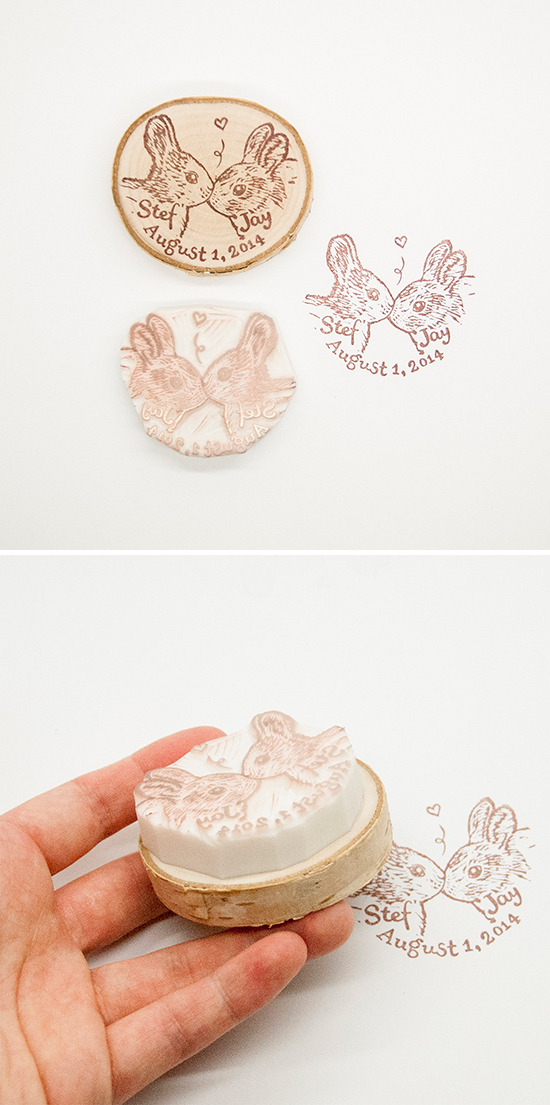 kissing-bunnies-rubber-stamp
