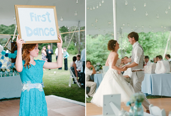 first dance wedding sign