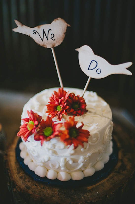we do bird cake toppers