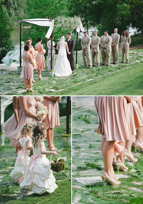 pink and gold wedding ideas