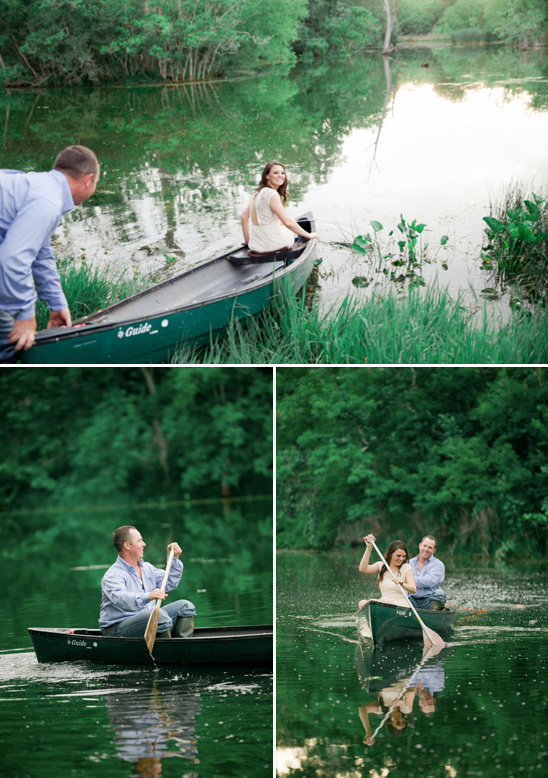 canoeing to romantic picnic dinner
