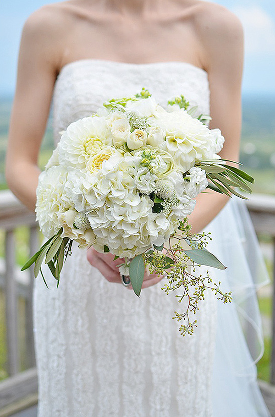 white wedding bouquet by Holly Heider Chapple Flowers
