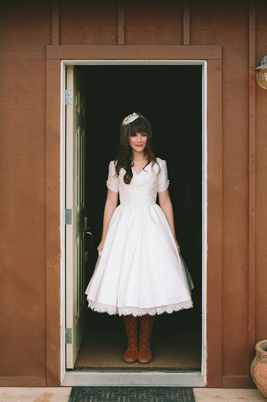 wedding dress with Moccasins