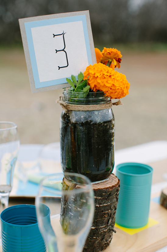 homemade table numbers