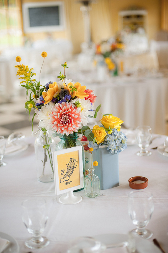 easy wedding table decor
