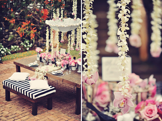 floral garland by ROA Floral & Event Design