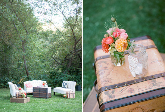 vintage outdoor lounge from Wine Country Party & Events