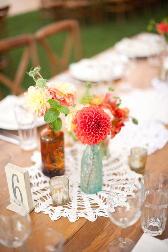 rustic vintage table decor ideas