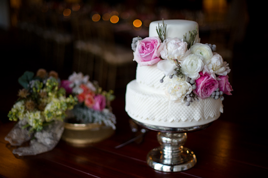 Cake by Blooming Flour Bakery