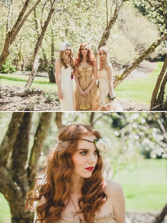 boho chic bridal ideas