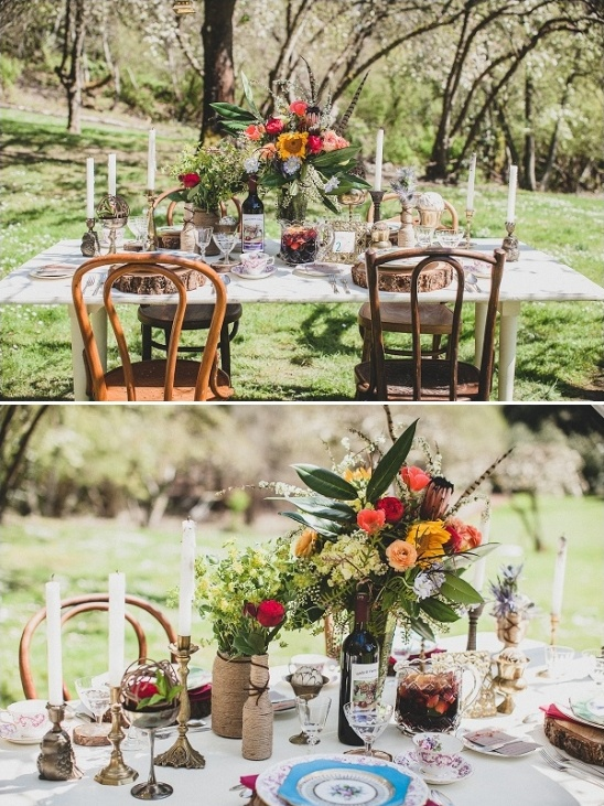 DIY Vintage Boho Chic Wedding Ideas