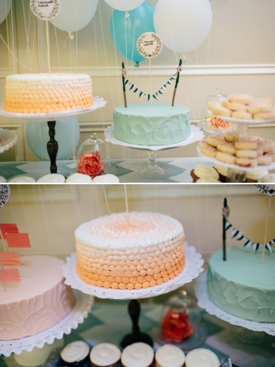 wedding cakes by DaCapo's Pastry Cafe
