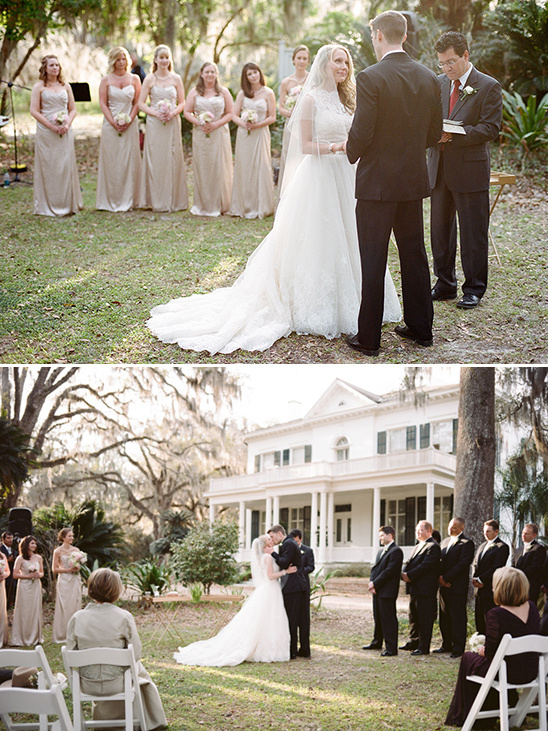 wedding ceremony at Goodwood Museum & Gardens
