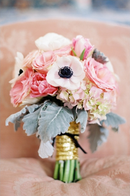 pink wedding bouquet by Poppy Love Weddings & Events