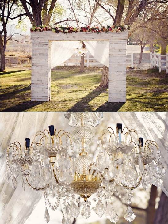 elegant rustic ceremony decor ideas