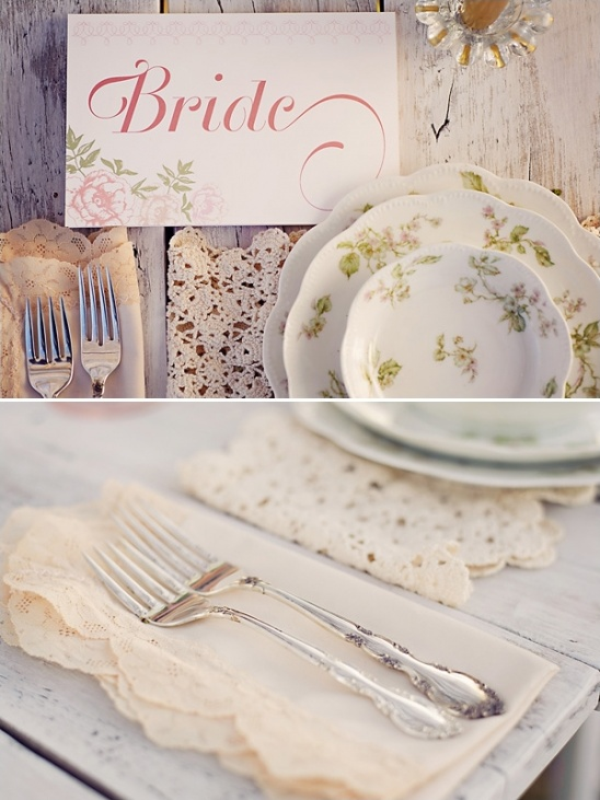 elegant place cards by Paper & Home