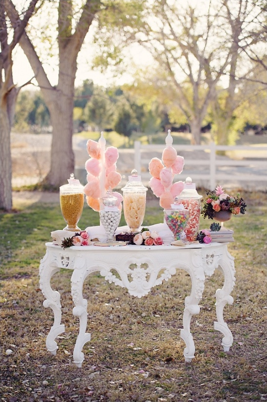 vintage candy table ideas