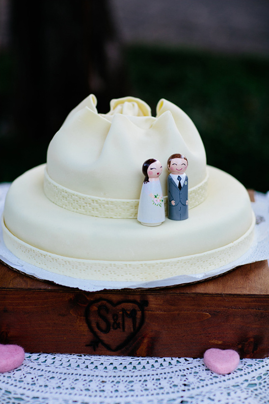 wooden figurine cake toppers