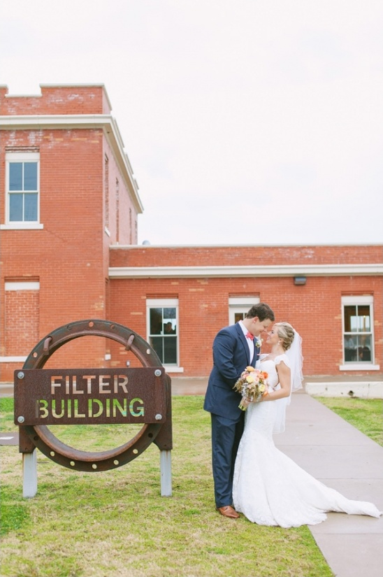 wedding at The Filter Building