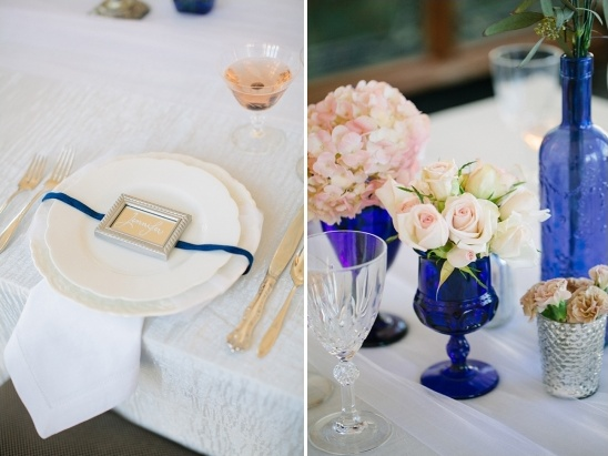 mirror place card ideas