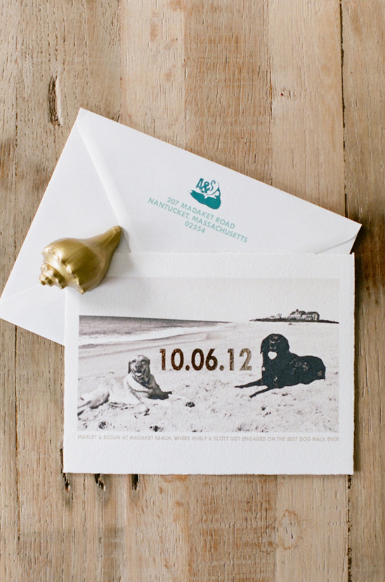 save the date by Chocolate Creative Design