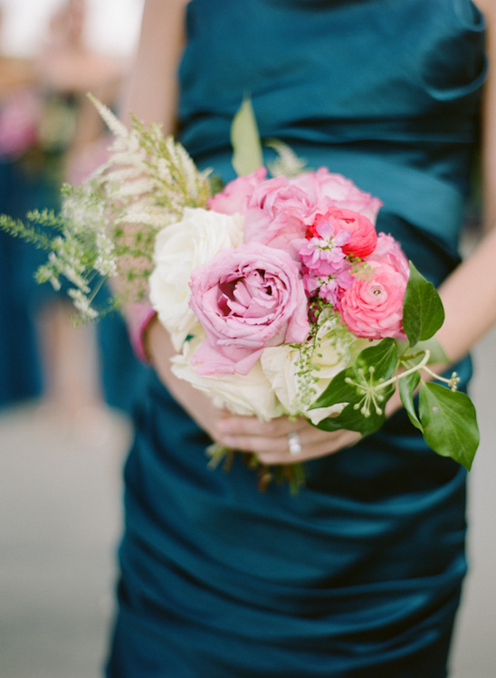 bridesmaid bouquet by Petal Floral Design