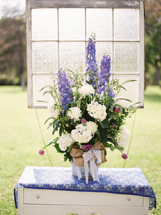 wedding ceremony floral arrangement ideas