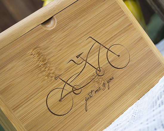 Tandem Bicycle Guest Book