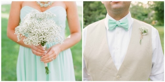 A sweet mint green and cream wedding junglespirit Images