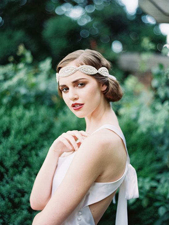 Melanie Headband By Atelier Headpiece