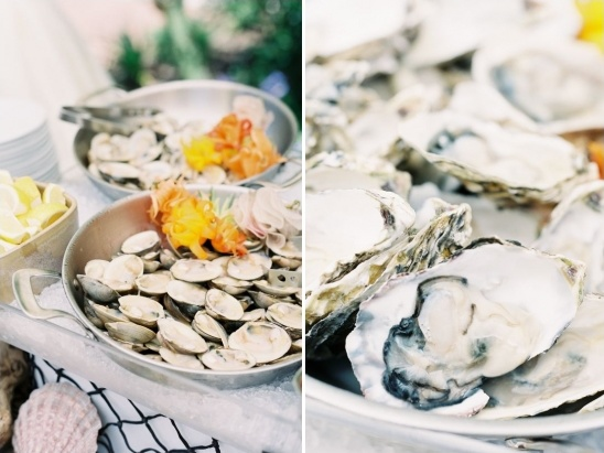 seafood wedding ideas