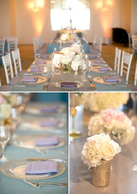 lavender and aqua wedding ideas
