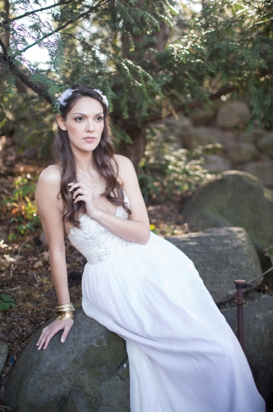 greek goddess bridal inspiration