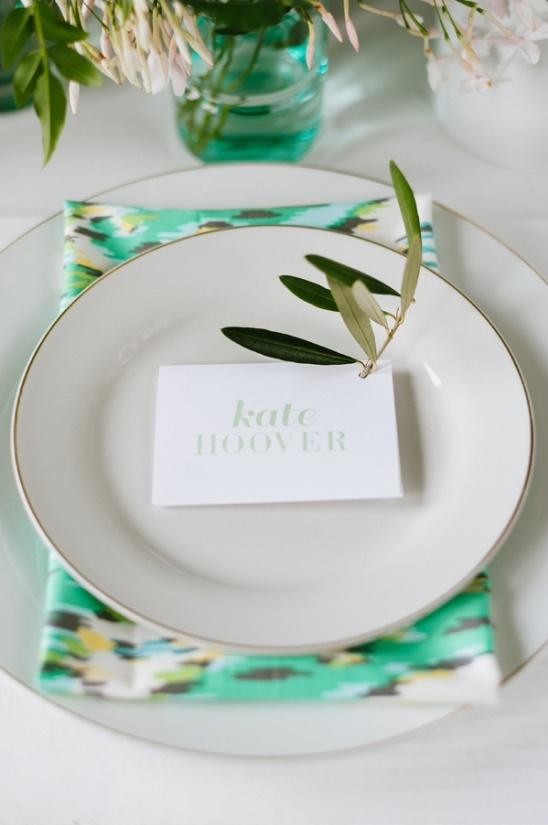 wedding place card ideas