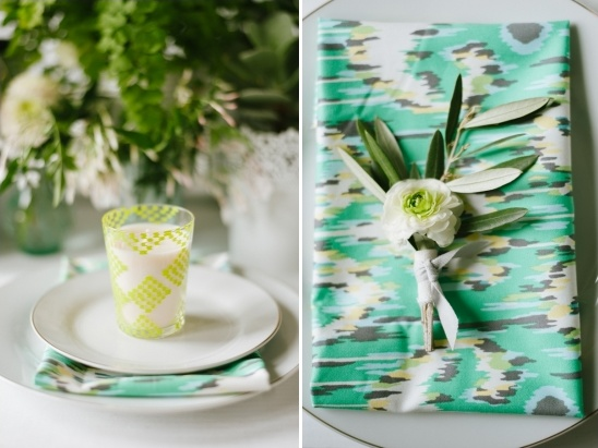 green and mint wedding ideas