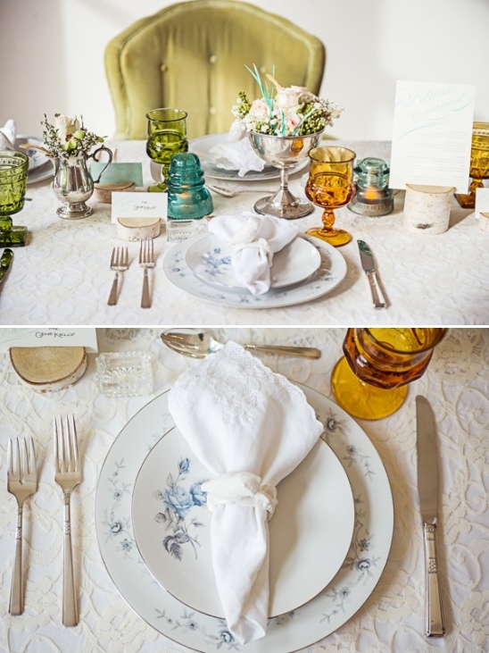 vintage place setting ideas
