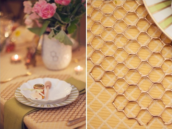 honeycomb placemat