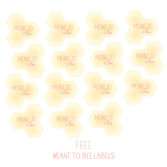 Free Meant To Be Labels