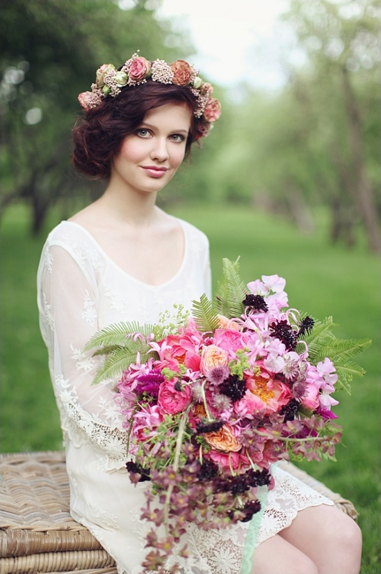 wildflower bouquet ideas from Blush Petals