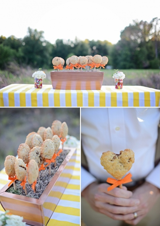 cookie on a stick dessert ideas from P is for Pie Bake Shop