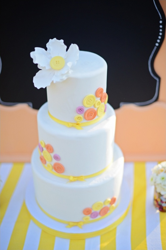 button wedding cake by The Sugar Suite