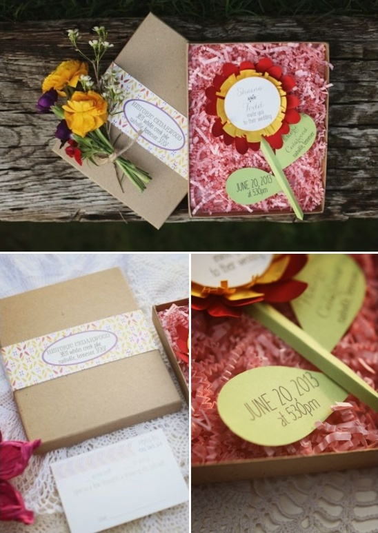 wedding invitation ideas from Designs In Paper