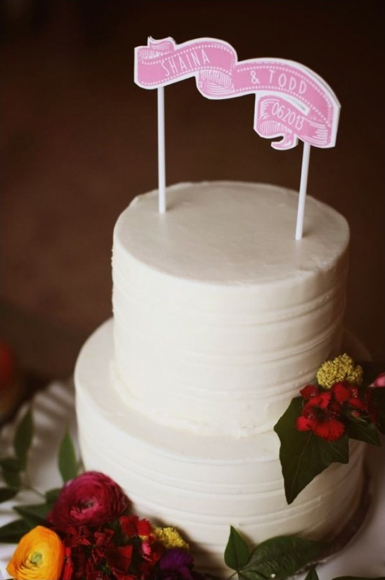 wedding cake by Patty Cakes