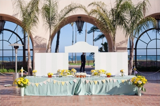 wedding reception at Fess Parker's DoubleTree Resort