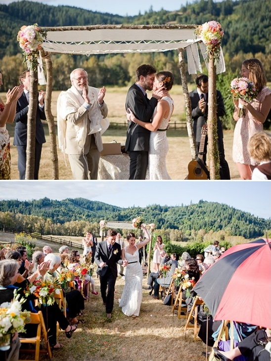 blog rustic wedding at the blue rooster inn